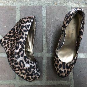 MADDEN GIRL Cheetah Wedges